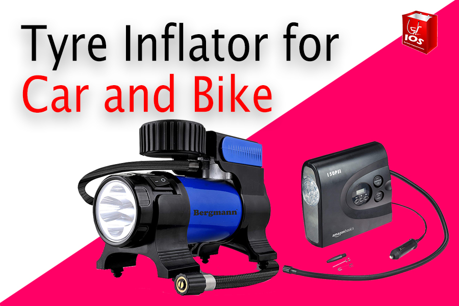 Tyre Inflator for Car and Bike